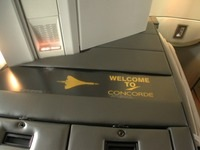 welcome concorde sign